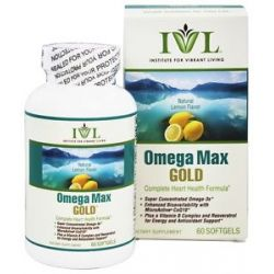 Institute for Vibrant Living Omega Max Gold 60 Softgels