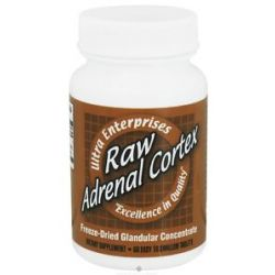 Ultra Enterprises Raw Adrenal Cortex 200 MG 60 Tablets