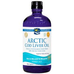 Nordic Naturals Arctic Cod Liver Oil Orange 16 Oz