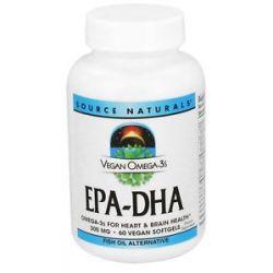 Source Naturals EPA DHA 300 MG 60 Vegan Softgels