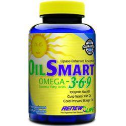 Renew Life Oilsmart Omega 3 6 9 90 Capsules 631257468178