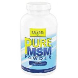 Natural Balance Pure MSM 1000 MG 1 lb formerly Trimedica 744665001346