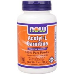Now Foods Acetyl L Carnitine Pure Powder 3 Oz