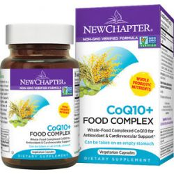 New Chapter CoQ10 Food Complex 30 Vegetarian Capsules