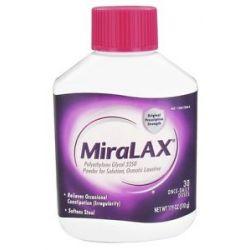Miralax Laxative Powder for Solution 17 9 Oz