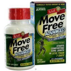 Schiff Move Free Advanced Plus MSM 1500 MG 60 Tablets