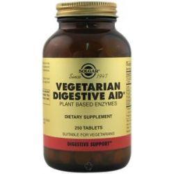 Solgar Vegetarian Digestive Aid 250 Chewable Tablets 033984010017