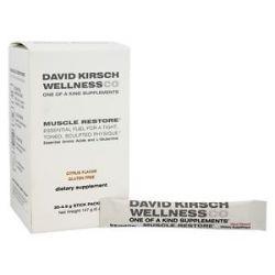 David Kirsch Wellness Muscle Restore Citrus 30 Packet S