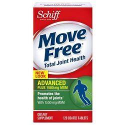 Schiff Move Free Advanced Plus MSM 1500 MG 120 Tablets