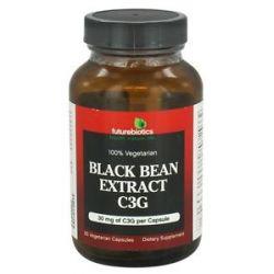 Futurebiotics Black Bean Extract C3G 30 MG 60 Vegetarian Capsules