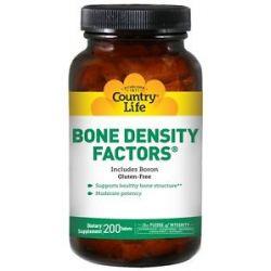 Country Life Bone Density Factors 200 Tablets formerly Biochem 015794015987
