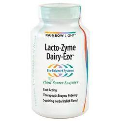 Rainbow Light Lacto Zyme Dairy Eze 90 Vegetarian Capsules