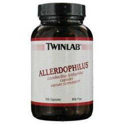 Twinlab Allerdophilus Lactobacillus Acidophilus 100 Capsules