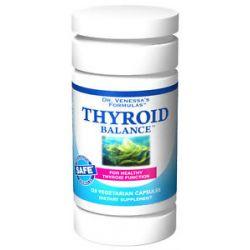 Dr Venessa's Formulas Thyroid Balance 120 Vegetarian Capsules 606851601863