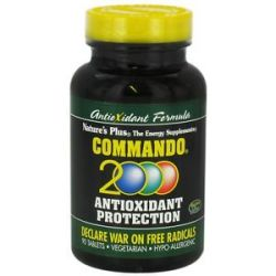 Nature's Plus Commando 2000 Anti Oxidant Protection 90 Tablets