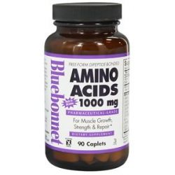 Bluebonnet Nutrition Amino Acids 1000 MG 90 Caplets