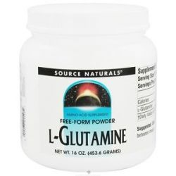 Source Naturals L Glutamine Free Form Powder 16 Oz