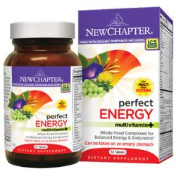 New Chapter Perfect Energy Whole Food Multivitamin 96 Tablets