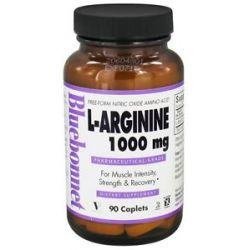 Bluebonnet Nutrition L Arginine 1000 MG 90 Caplets