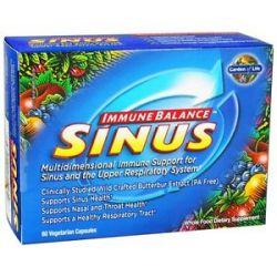 Garden of Life Immune Balance Sinus 60 Vegetarian Capsules 658010114356
