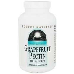 Source Naturals Grapefruit Pectin 1000 MG 240 Tablets