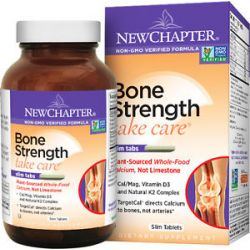 New Chapter Bone Strength Take Care 120 Slim Tablets 727783004079