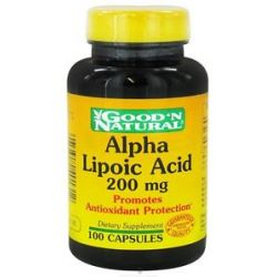 Good 'N Natural Alpha Lipoic Acid 200 MG 100 Capsules