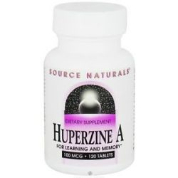 Source Naturals Huperzine A for Learning and Memory 100 mcg 120 Tablet S