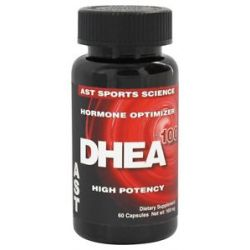AST Sports Science DHEA Dehydroepiandrosterone 100 MG 60 Capsules