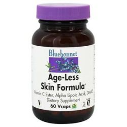 Bluebonnet Nutrition Age Less Skin Formula 60 Vegetarian Capsules
