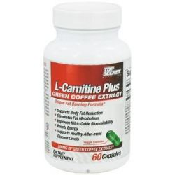 Top Secret Nutrition L Carnitine Plus Green Coffee Extract 60 Capsules