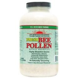 YS Organic Bee Farms Fresh Bee Pollen Whole Granules 16 Oz