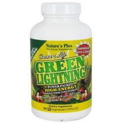 Nature's Plus Source of Life Green Lightning High Energy Whole Food