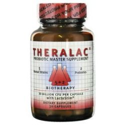 Master Supplements Theralac Probiotic Master Supplement 30 Capsules