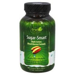 Irwin Naturals Sugar Smart Multi Action Blood Glucose Formula 80 Softgels