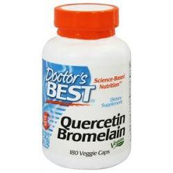 Doctor's Best Quercetin Bromelain Vegan Circulatory Support 180 Vegetarian