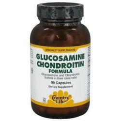 Country Life Glucosamine Chondroitin Formula 90 Capsules formerly Biochem
