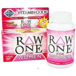 Garden of Life Vitamin Code Raw One Multi Vitamin for Women 75 Vegetarian