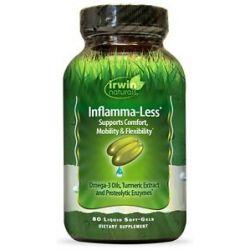 Irwin Naturals Inflamma Less Optimum Comfort Mobility Flexibility 80