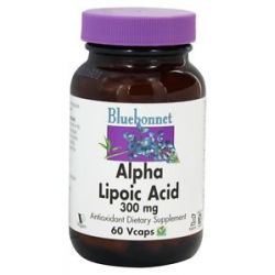 Bluebonnet Nutrition Alpha Lipoic Acid 300 MG 60 Vegetarian Capsules