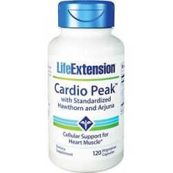 Life Extension Cardio Peak with Standardized Hawthorn and Arjuna 120