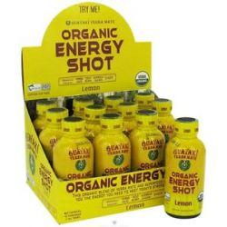 Guayaki Organic Energy Shot Lemon 2 Oz 632432811208