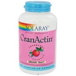 Solaray Cranactin Cranberry AF Extract 400 MG 180 Vegetarian Capsules 076280084221