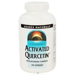 Source Naturals Activated Quercetin Bioflavonoid Complex 200 Capsules