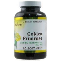 Carlson Labs Golden Primrose Evening Primrose Oil 1300 MG 90 Softgels