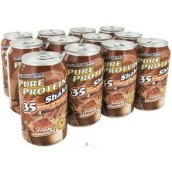 Pure Protein Shake Frosty Chocolate 11 Oz