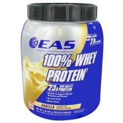 EAS 100 Whey Protein Powder Vanilla 2 Lbs 084414501605