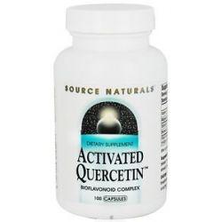 Source Naturals Activated Quercetin Bioflavanoid Complex 100 Capsules
