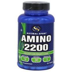 Natural Sport Amino 2200 90 Tablets