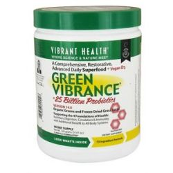 Vibrant Health Green Vibrance Version 14 0 Daily Superfood 25 61 Oz
